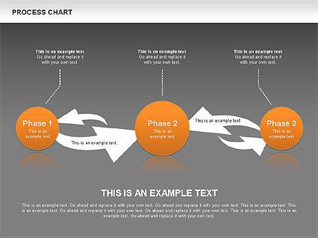 Process Chart Toolbox, Slide 14, 00523, Process Diagrams — PoweredTemplate.com