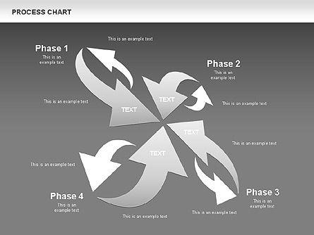 Process Chart Toolbox, Slide 15, 00523, Process Diagrams — PoweredTemplate.com