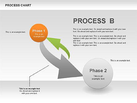 Process Chart Toolbox, Slide 7, 00523, Process Diagrams — PoweredTemplate.com