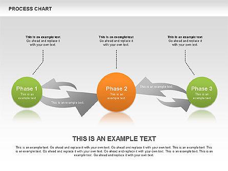 Process Chart Toolbox, Slide 8, 00523, Process Diagrams — PoweredTemplate.com