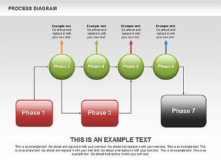 Process Flow Chart, Slide 5, 00524, Flow Charts — PoweredTemplate.com