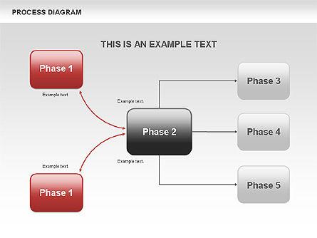 Process Flow Chart, Slide 8, 00524, Flow Charts — PoweredTemplate.com