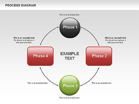Process Flow Chart, Slide 9, 00524, Flow Charts — PoweredTemplate.com