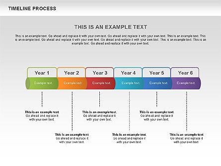 Timeline Process Toolbox, Slide 2, 00531, Timelines & Calendars — PoweredTemplate.com