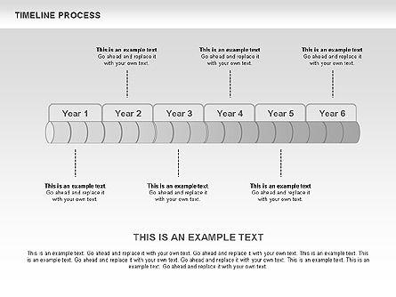 Timeline Process Toolbox, Slide 3, 00531, Timelines & Calendars — PoweredTemplate.com