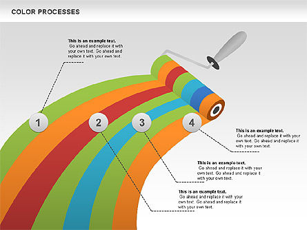 Process Diagrams: Color Process Diagram #00540