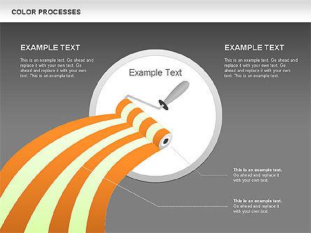 Color Process Diagram, Slide 20, 00540, Process Diagrams — PoweredTemplate.com