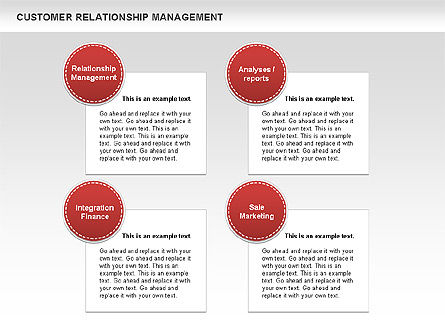 Customer Relationship Management Diagrams, Slide 2, 00544, Business Models — PoweredTemplate.com