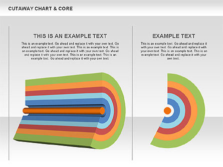 Pie Charts: Cutaway Charts with Core Toolbox #00545