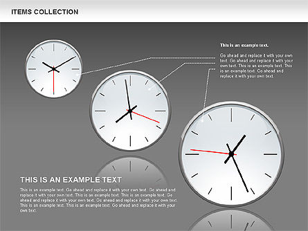 3D Shapes with Meters Collection, Slide 14, 00546, Shapes — PoweredTemplate.com