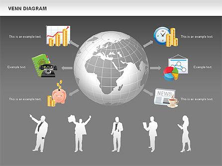 Financial Icons and Shapes, Slide 14, 00549, Icons — PoweredTemplate.com