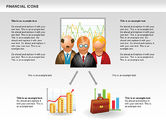 Financial Icons and Shapes#8