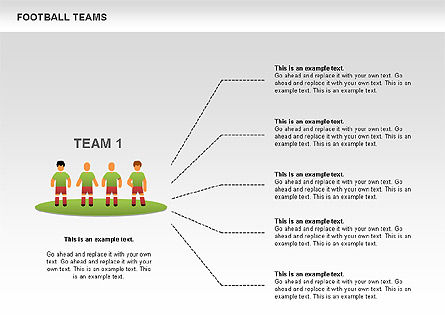 Soccer Team Icons, Slide 3, 00550, Icons — PoweredTemplate.com