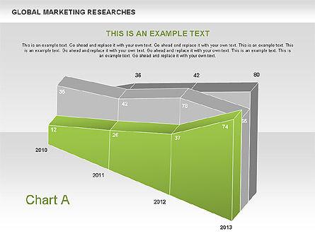3D Charts (non data-driven), Slide 2, 00551, Business Models — PoweredTemplate.com