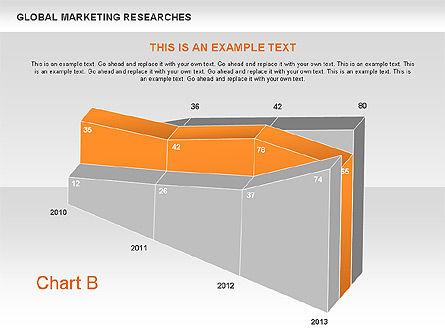 3D Charts (non data-driven), Slide 3, 00551, Business Models — PoweredTemplate.com