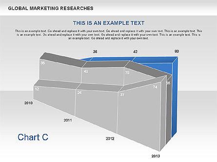 3D Charts (non data-driven), Slide 4, 00551, Business Models — PoweredTemplate.com