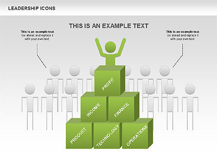Leadership Icons, 00553, Business Models — PoweredTemplate.com