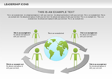 Leadership Icons, Slide 4, 00553, Business Models — PoweredTemplate.com