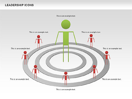 Leadership Icons, Slide 5, 00553, Business Models — PoweredTemplate.com