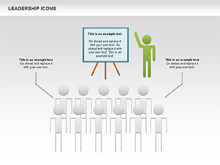Leadership Icons, Slide 7, 00553, Business Models — PoweredTemplate.com