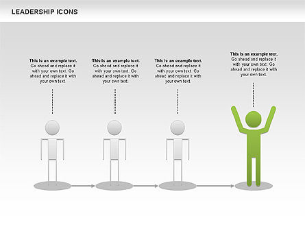 Leadership Icons, Slide 8, 00553, Business Models — PoweredTemplate.com