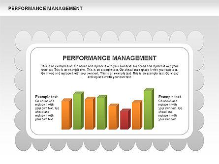 Performance Management Diagrams with Checks, Slide 7, 00554, Business Models — PoweredTemplate.com