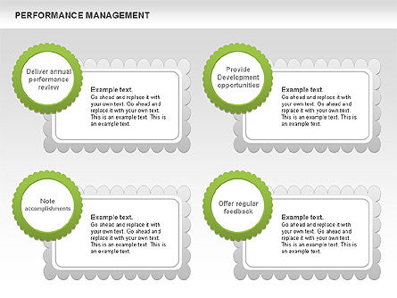 Performance Management Diagrams with Checks, Slide 8, 00554, Business Models — PoweredTemplate.com