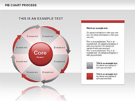 Pie Chart Process, Slide 5, 00555, Process Diagrams — PoweredTemplate.com