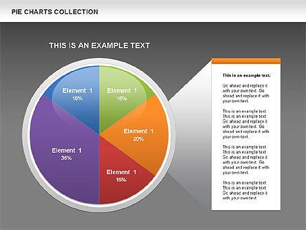 Pie Chart Collection, Slide 12, 00556, Pie Charts — PoweredTemplate.com