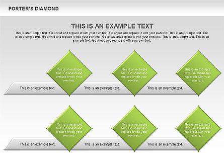 Porter's Diamond Diagram, Slide 11, 00557, Business Models — PoweredTemplate.com
