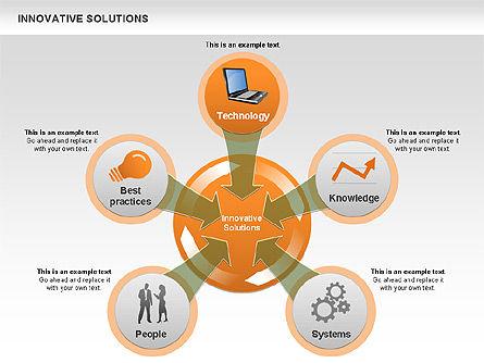 Innovative Solutions Diagram, Slide 2, 00561, Process Diagrams — PoweredTemplate.com