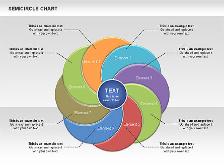 Semi Circle Chart Slide 10