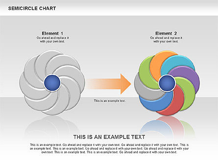 Semi Circle Chart Slide 11