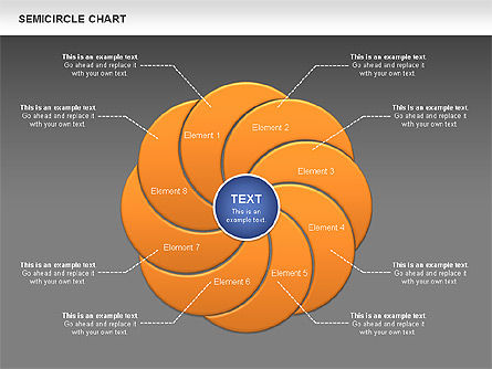 Semi Circle Chart Slide 13