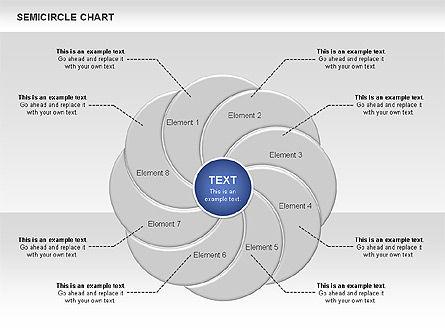 Semi Circle Chart Slide 2