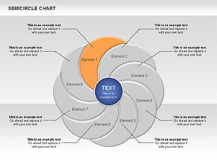 Semi Circle Chart Slide 3
