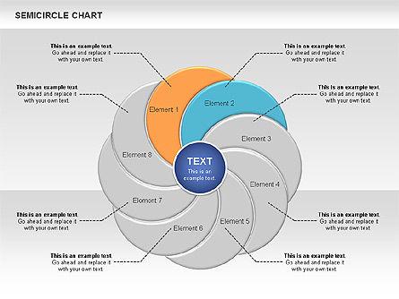 Semi Circle Chart Slide 4