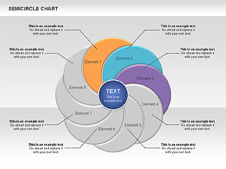 Semi Circle Chart Slide 5