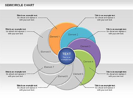 Semi Circle Chart Slide 6