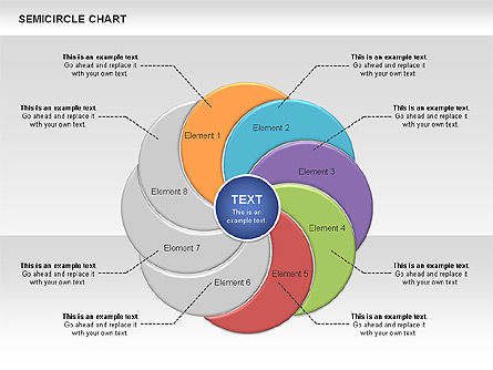 Semi Circle Chart Slide 7