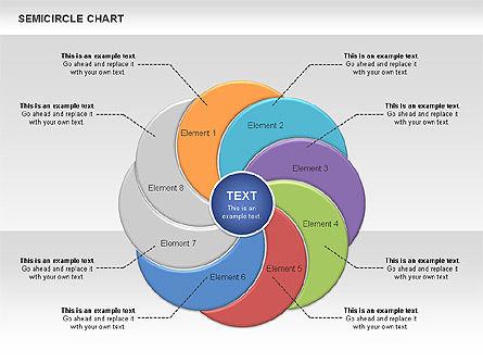 Semi Circle Chart Slide 8