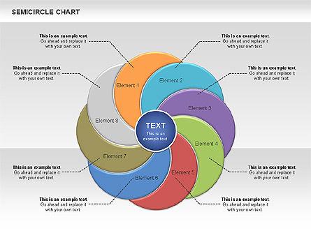 Semi Circle Chart Slide 9