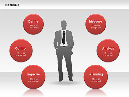 Six Sigma, Slide 3, 00566, Business Models — PoweredTemplate.com