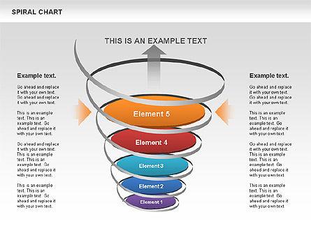 Spiral Funnel Chart Slide 11