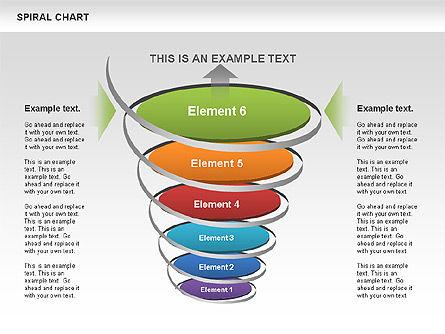 Spiral Funnel Chart Slide 12