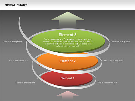 Spiral Funnel Chart Slide 13