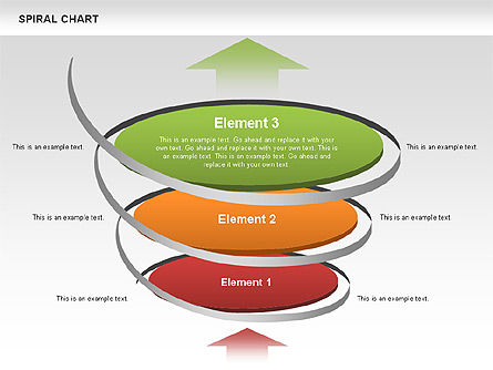 Spiral Funnel Chart, Slide 2, 00568, Process Diagrams — PoweredTemplate.com