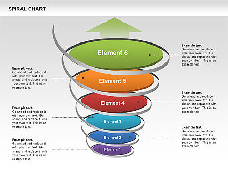 Spiral Funnel Chart Slide 5