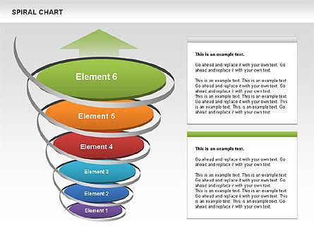 Spiral Funnel Chart Slide 6