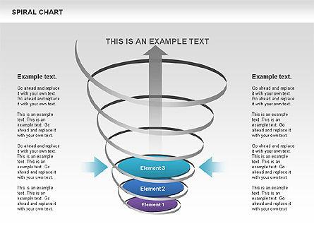 Spiral Funnel Chart Slide 9